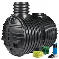 Výhodná sestava Eco line 5000 l s filtru MMD - s novým vchodnějším čerpadlem