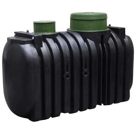 Plastová jímka Drop Water 2000 l dvoukomorová