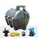 Výhodná sestava Water line 3000 l s filtrem