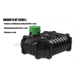 Bravo Flat Tank 5000L