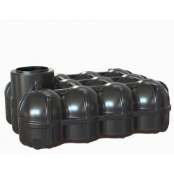 Plastová nízká nádrž Hudson 5000L - nabídka se připravuje